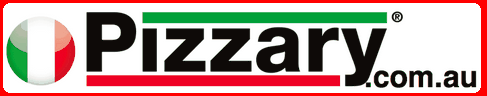 Pizzary Gourmet Pizza's Logo